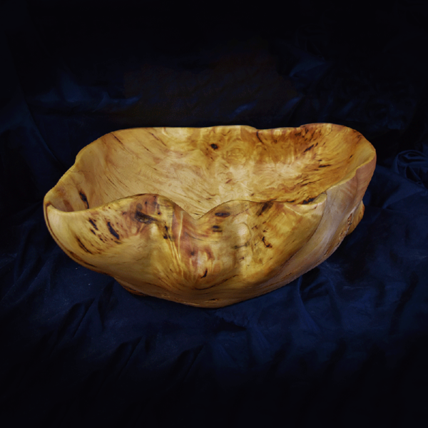 Yellow Cedar Shell Bowl