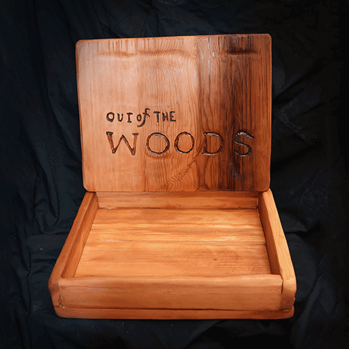 OUT of the WOODS Thank-You Box