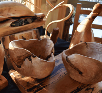 Small Maple Bowls