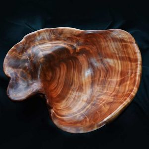 Western Red Cedar Burl Bowl